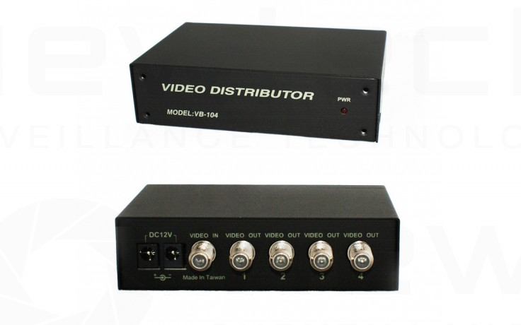 4 way Video Distributor