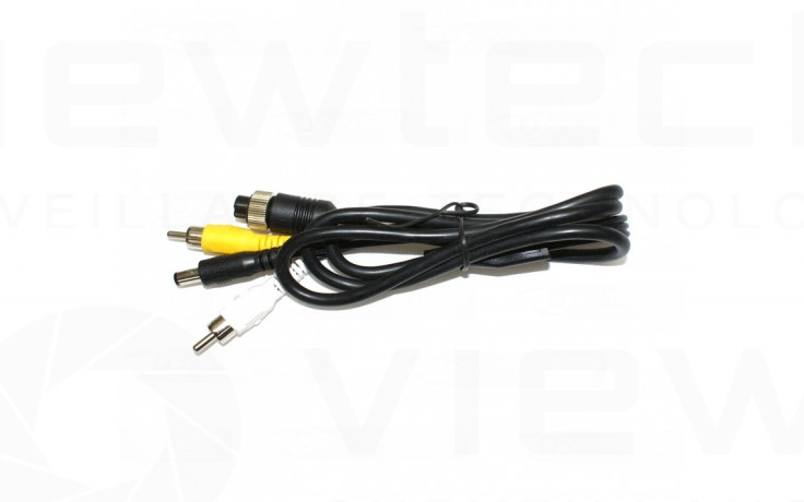 4 pin female to rca male adapter