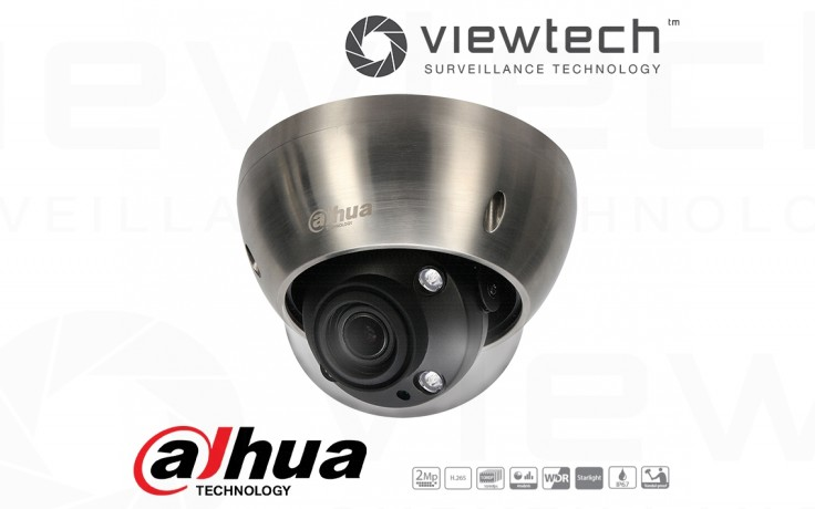 Dahua 2MP Stainless Dome