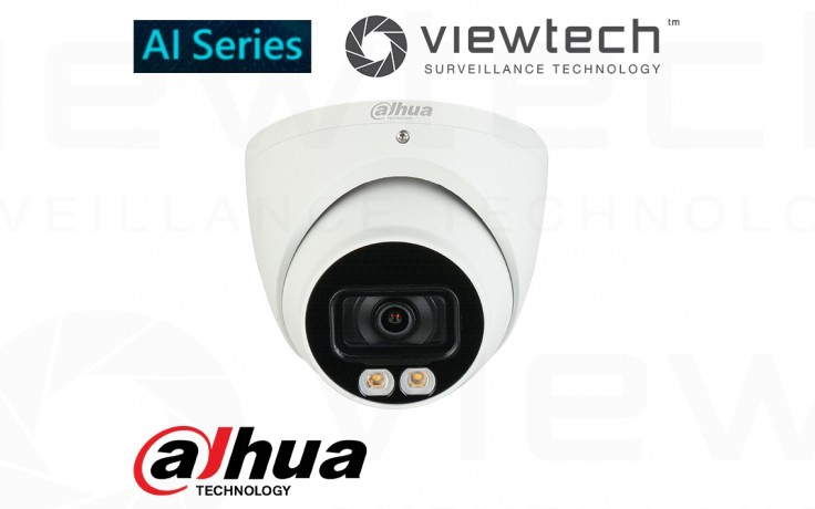 Dahua 4MP turret LED