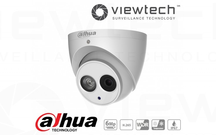 Dahua 6MP Turret Viewtech