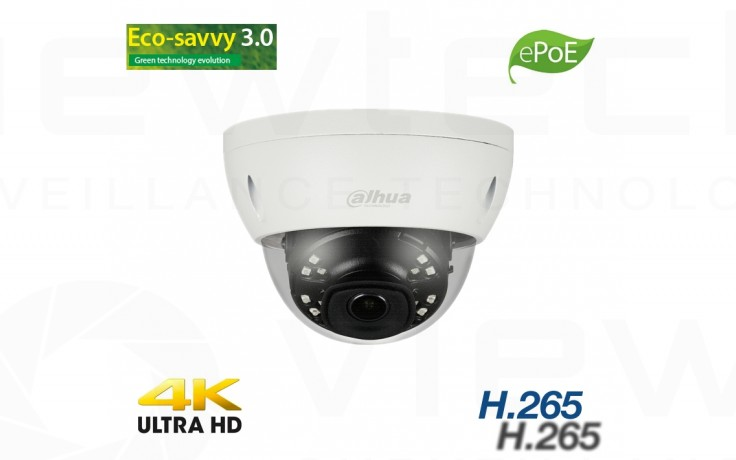 Dahua 8MP ePOE mini Dome H265