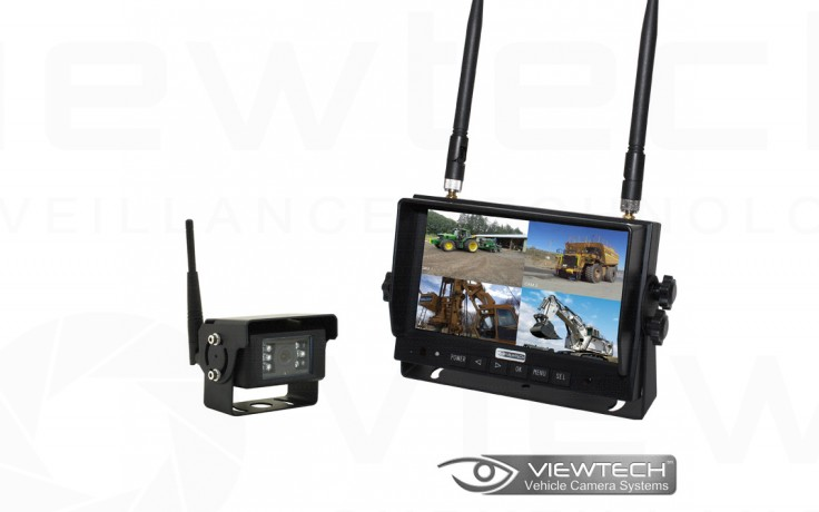 "Viewtech Heavy Duty 7"" Wireless Forklift Camera System"