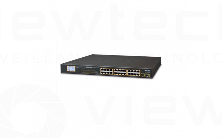 Planet 24 Port Gig PoE+ Switch