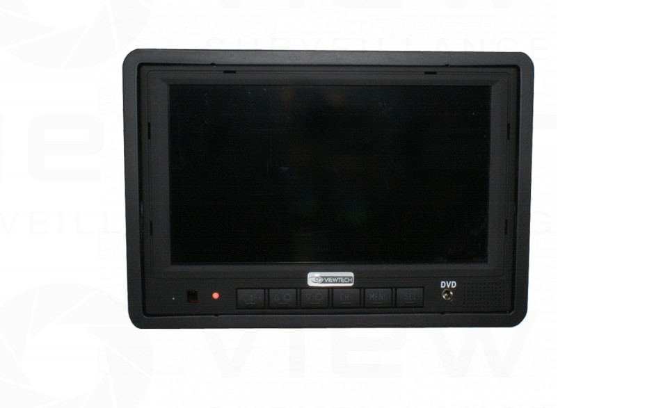 "Viewtech 7"" monitor flush mount"