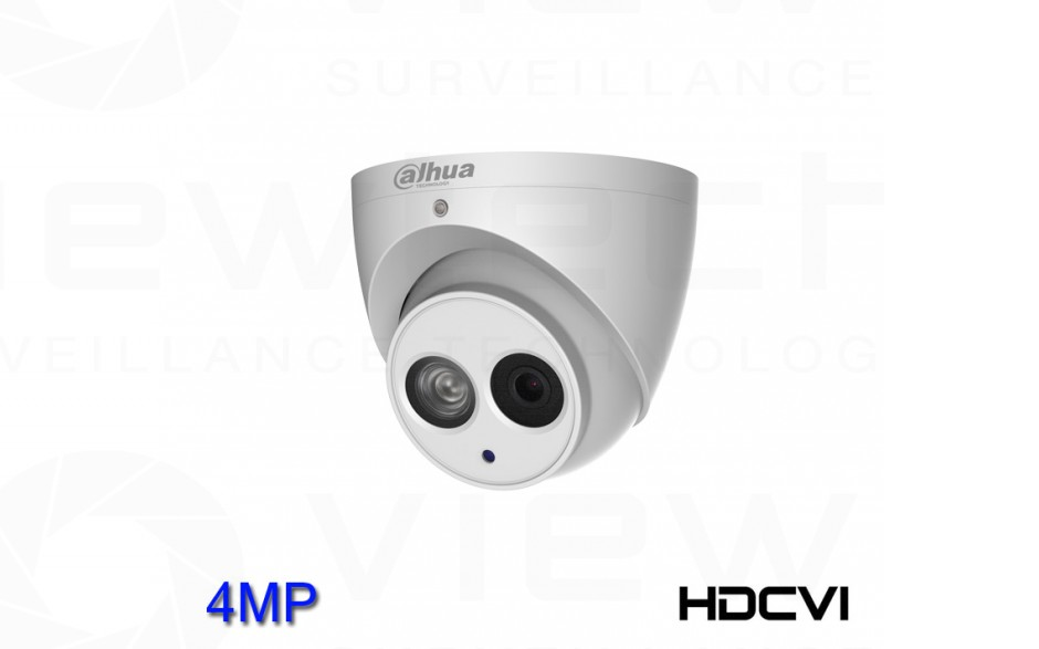 Dahua 4MP HD-CVI Turret Dome