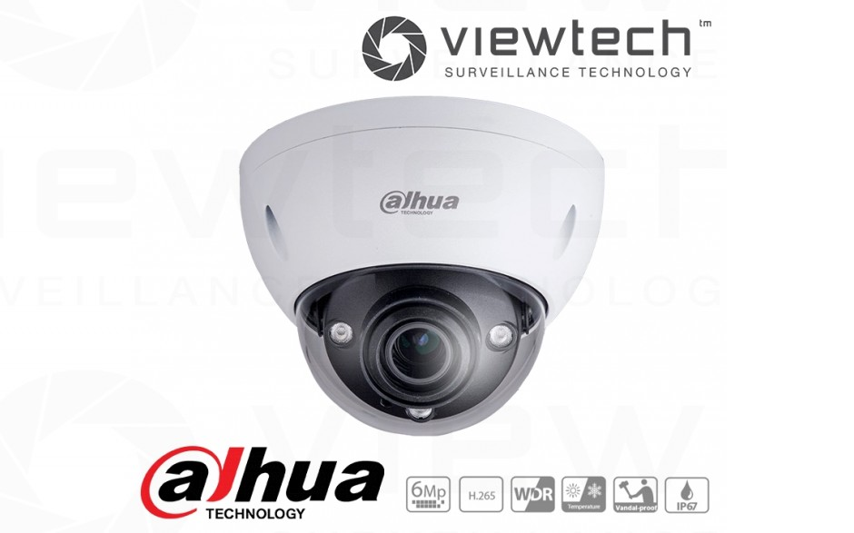 Dahua 6MP vandal dome
