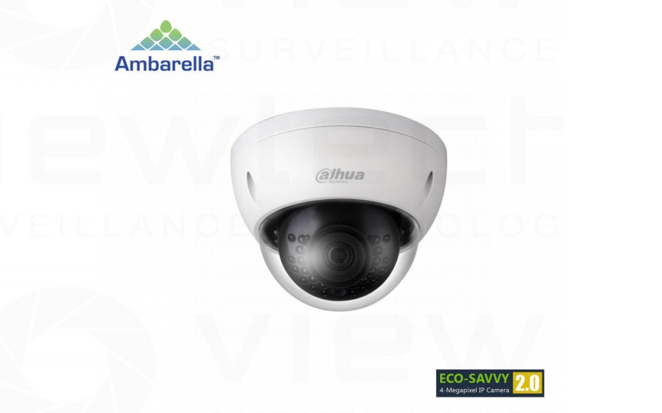 Dahua 4MP Mini Vandal Dome WDR