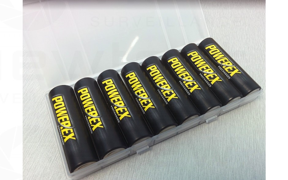 Powerex AA Batteries 8-pack