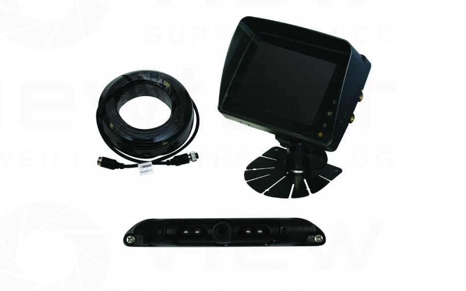 """Viewtech 5"""" LCD Reversing System with Numberplate Cam"""