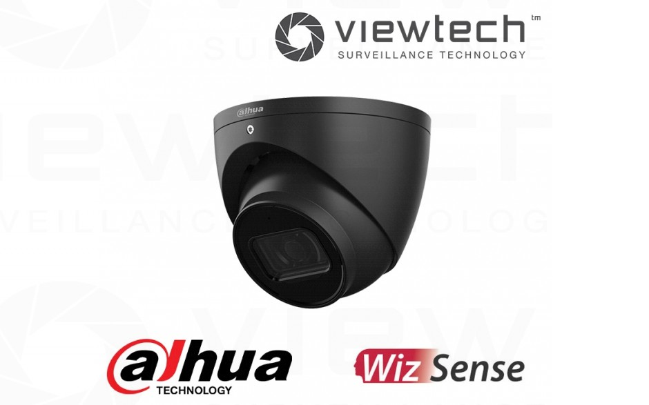 Dahua 6MP Turret WizSense (Black)