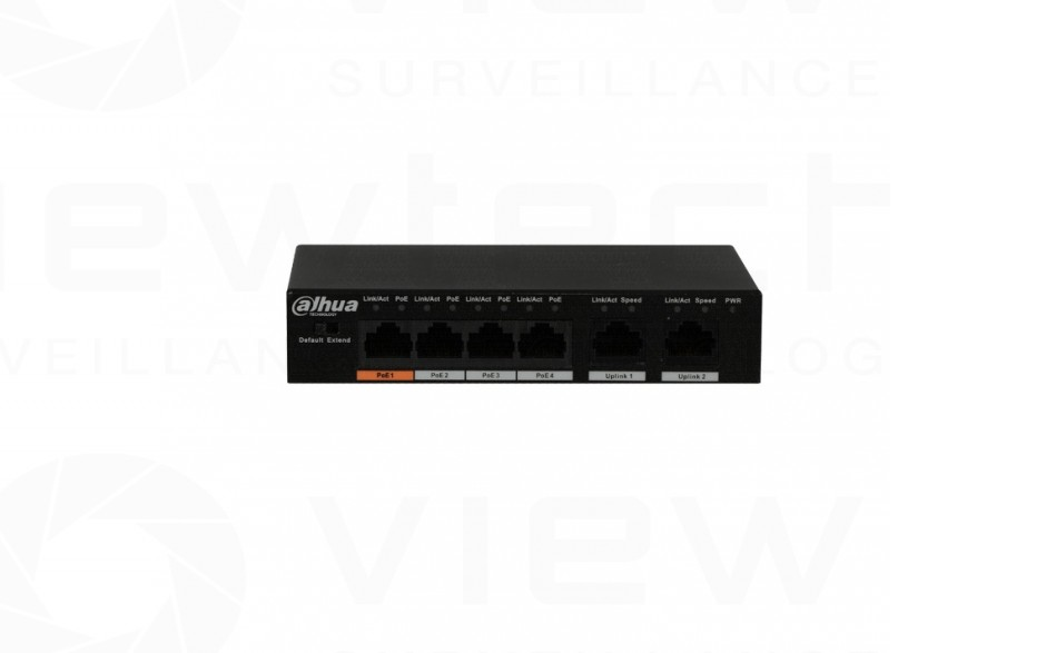 Dahua 4-Port PoE Fast Switch