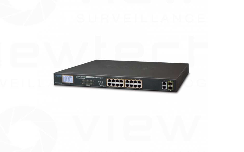 Planet 16 Port PoE+ Switch