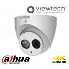 Dahua 8MP Turret Dome H265 2.8mm