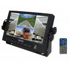 "Viewtech 7"" Quad LCD Vehicle Monitor"