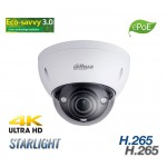 Dahua 8MP ePOE Starlight Dome