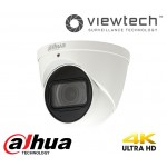 Dahua 8MP Motorised Turret Dome H265