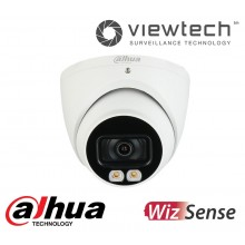 Dahua 4MP Starlight LED Turret WizSense