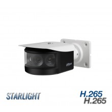 Dahua 8mp Multi-Lens Panoramic Network IR Bullet Camera