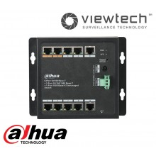 Dahua 8 Port POE Wall Mount Switch