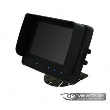 "Viewtech 7"" Waterproof Touch Quad Monitor"