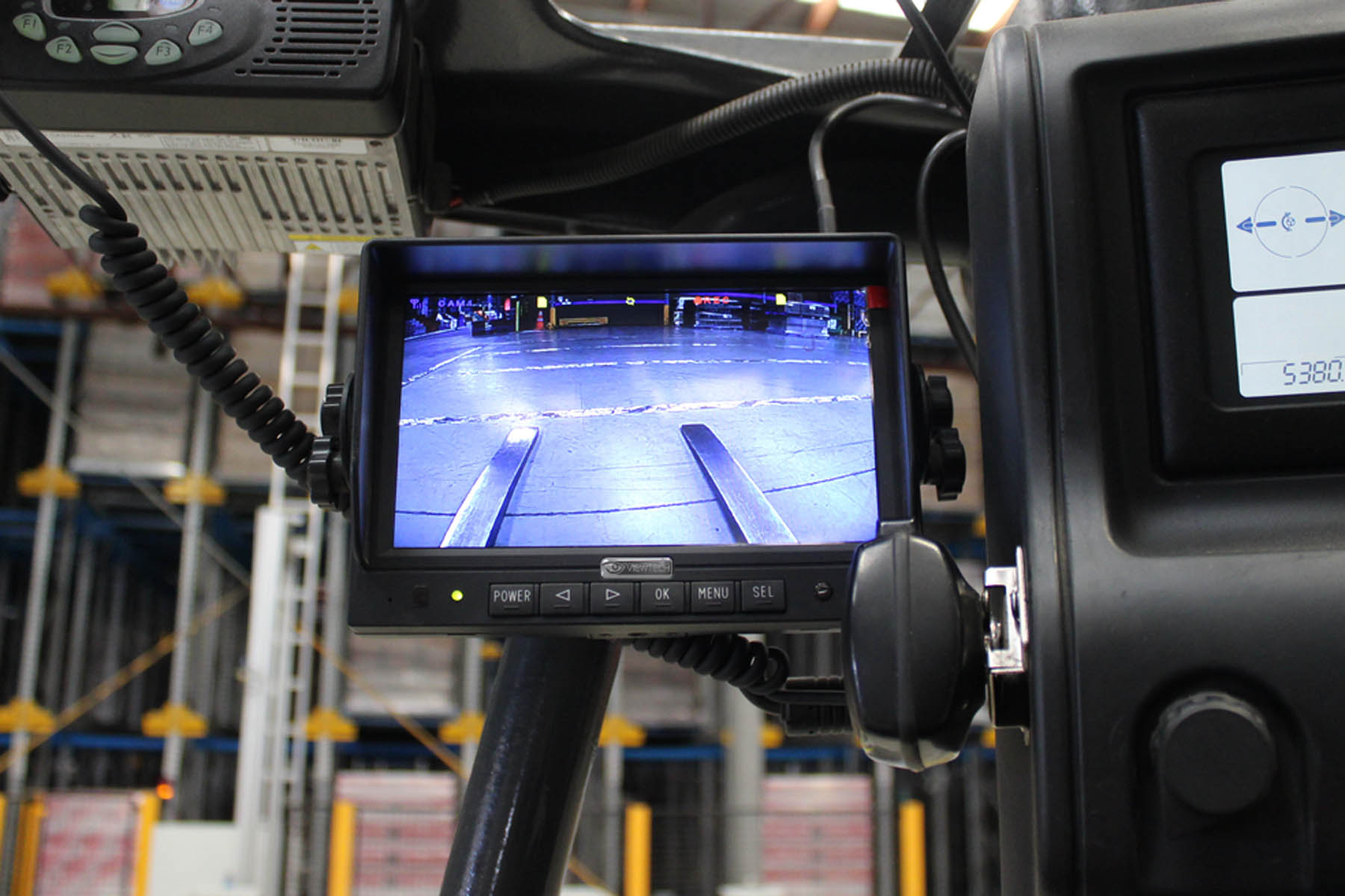 Viewtech Heavy Duty 7 Quot Wireless Forklift Camera System